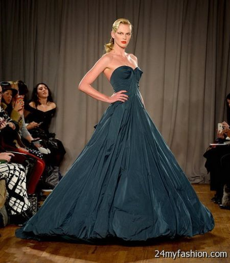 Zac posen evening gowns 2018-2019