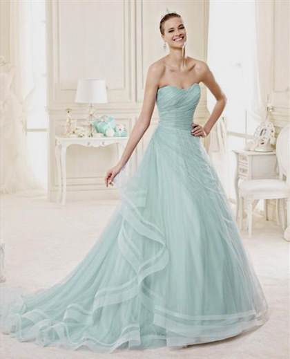 Aquamarine Wedding Dresses 2018 2019