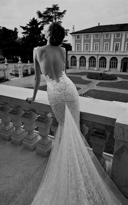 backless wedding dress pinterest 2018/2019 | B2B Fashion