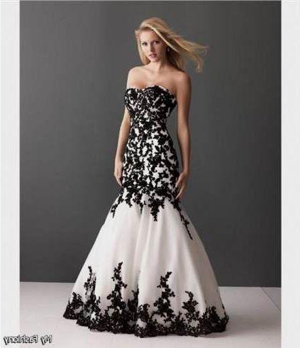 Black And White Prom Dress 20182019 B2b Fashion