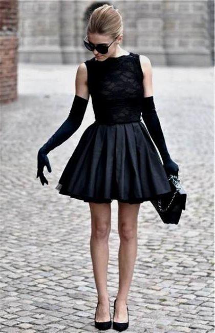 Black Dress Tumblr 2018-2019 | B2B Fashion
