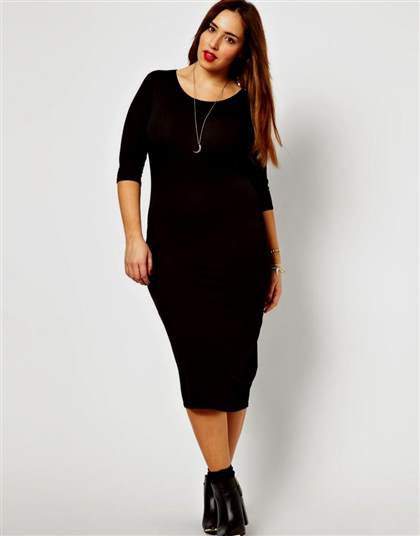 black midi dress plus size 2018-2019 | B2B Fashion