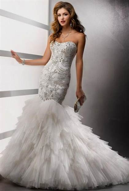 Bling corset mermaid wedding dresses 2018 2019 b2b fashion for Bling corset mermaid wedding dresses