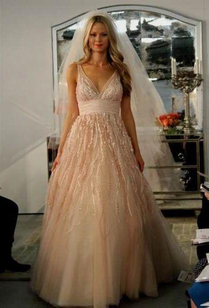 Blush Wedding Gowns 2018