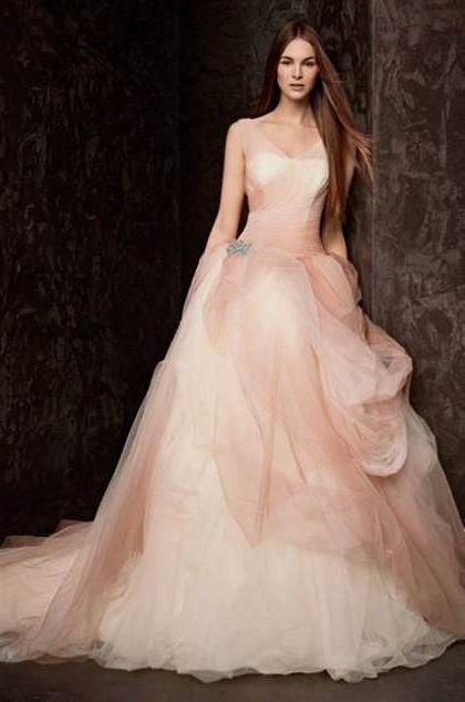 Blush Wedding Dresses Vera Wang 2018 2019 B2b Fashion