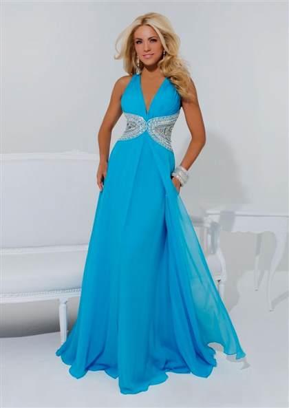 Bright Light Blue Prom Dresses 20182019 B2b Fashion