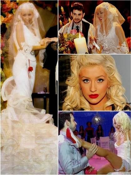 Christina Aguilera Wedding Dress Replica 2018 2019 B2b