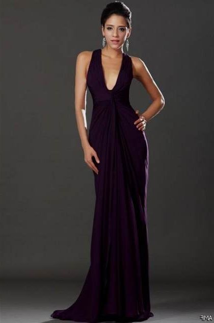 dark purple prom dress 2018/2019 | B2B Fashion