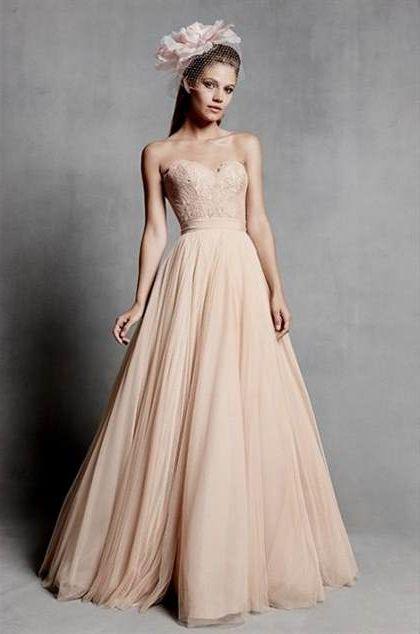 Dusty Rose Wedding Dress 2018 2019 B2b Fashion
