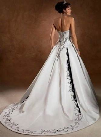 gothic white corset wedding dresses 2018/2019 | B2B Fashion