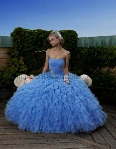 Huge princess ball gown wedding dresses