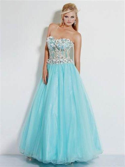 Ice Blue Ball Gown 20182019 B2b Fashion