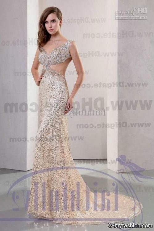 Ivory Mermaid Prom Dress