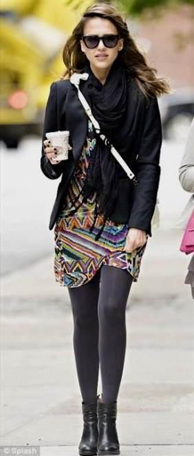 Jessica Alba Casual Dresses 2018 2019 B2b Fashion