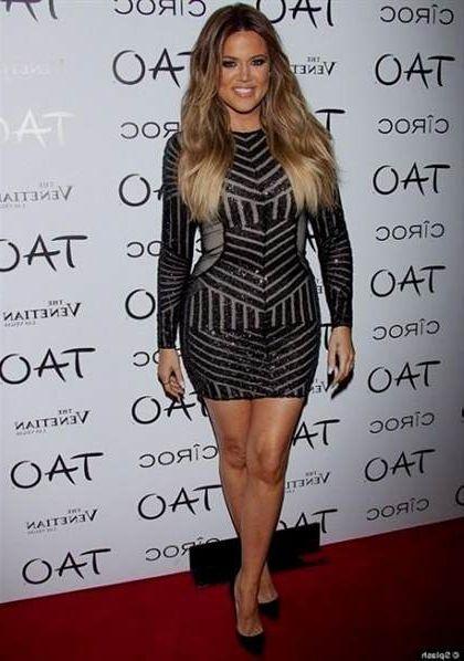 khloe kardashian black dress 2018-2019   B2B Fashion
