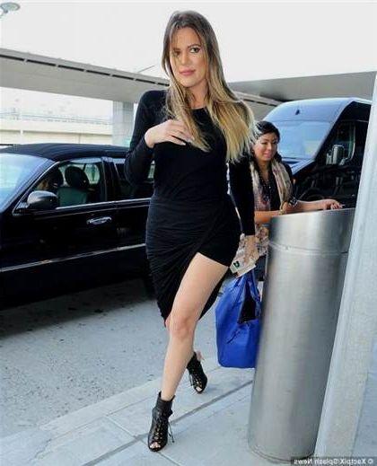 Khloe Kardashian Black Dress 2018 2019 B2b Fashion