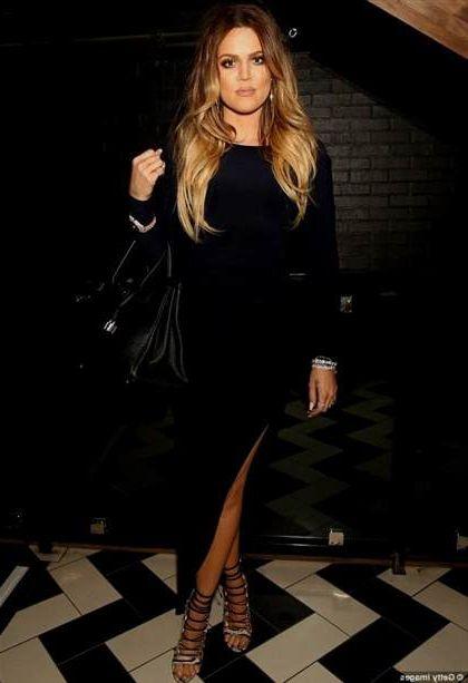 khloe kardashian black dress 20182019 b2b fashion