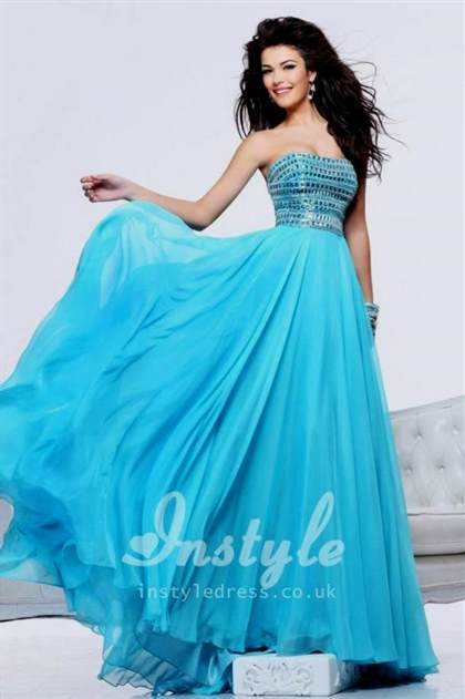 Long Light Blue Prom Dresses 2018 2019 B2b Fashion