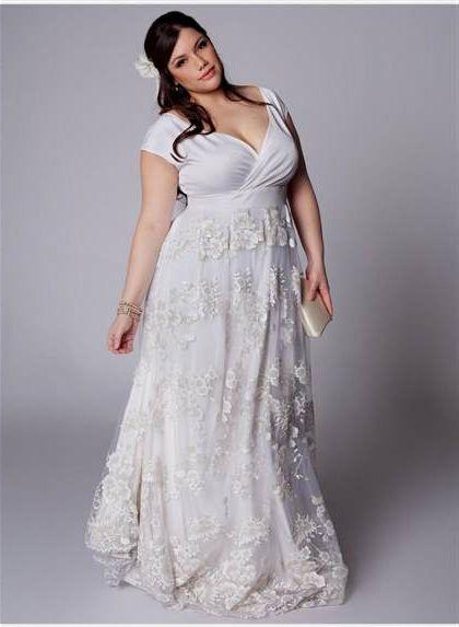 Long White Lace Dress Plus Size 20182019 B2b Fashion
