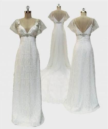 Modern Edwardian Wedding Dress 2018/2019