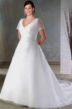 modest wedding dresses plus size 2018/2019 | B2B Fashion