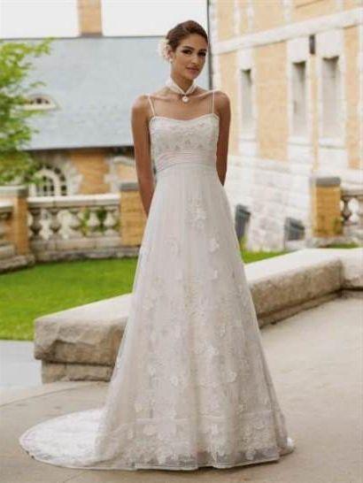 Off white simple wedding dresses 2018 2019 b2b fashion for Simple off white wedding dresses