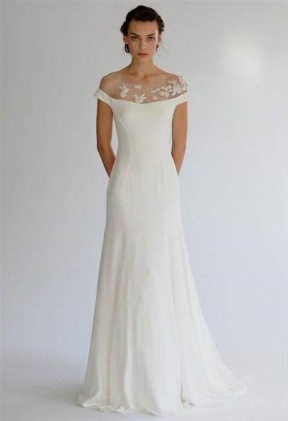 Off White Simple Wedding Dresses 2018 2019 B2b Fashion