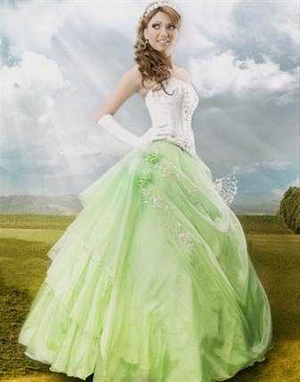 pale green wedding dress 2018/2019 | B2B Fashion