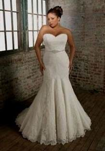 f04516bbf11 plus size fit and flare wedding dresses 2018-2019