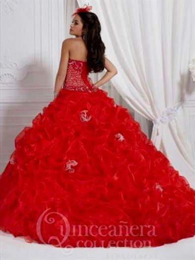 c64ea6eb66 quinceanera dresses red and silver 2018 2019