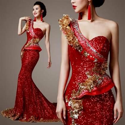 red and gold wedding dresses 2018/2019 | B2B Fashion