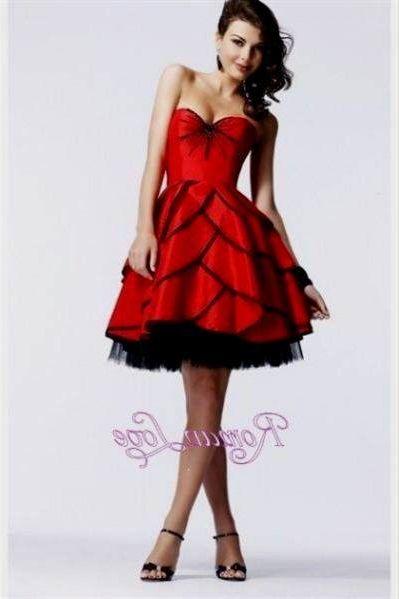knee length prom dresses 2018