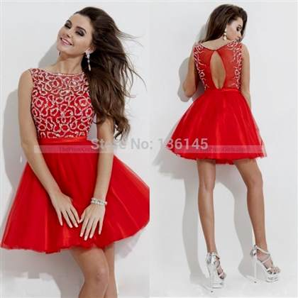 Red Winter Formal Dresses Juniors 2018 2019 B2b Fashion