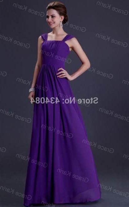 Royal Purple Plus Size Bridesmaid Dresses 20182019 B2b Fashion