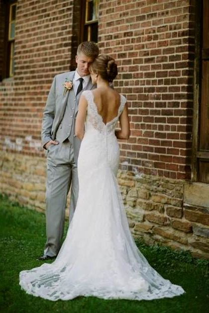 Rustic Country Lace Wedding Dresses 2018 2019 B2b Fashion