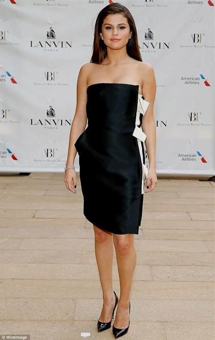 selena gomez white dress   bb fashion