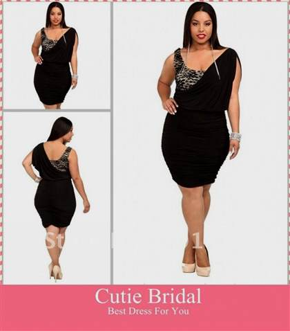 Plus Size Sexy Cocktail Dresses