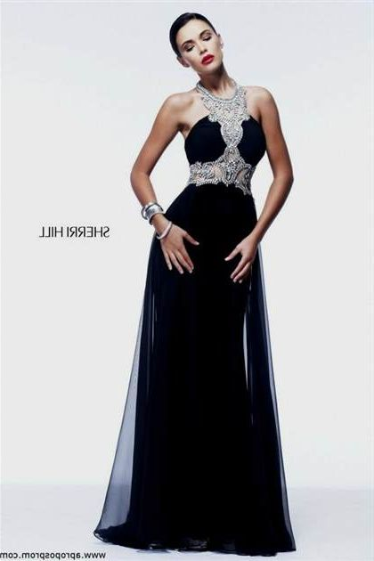Sherri Hill Black Prom Dresses 2018 2019 B2b Fashion