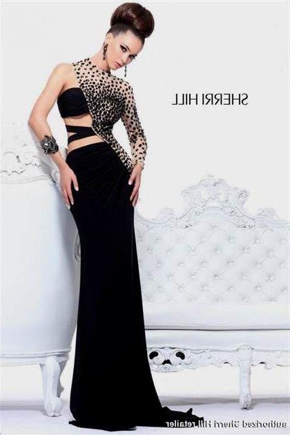 Sherri Hill Black Prom Dresses 2018 2019 B2b Fashion