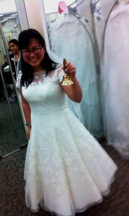 tea length wedding dresses david\'s bridal 2018-2019 | B2B Fashion
