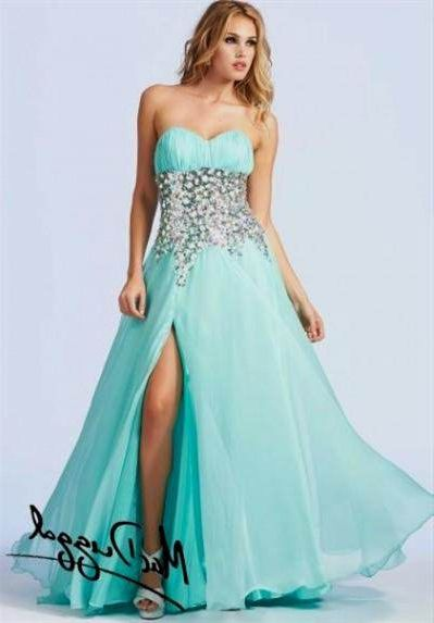 Teal prom dresses 2018 pictures