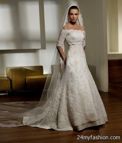 traditional spanish wedding dress 2018-2019