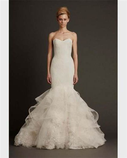 Vera Wang Mermaid Wedding Dresses 2018