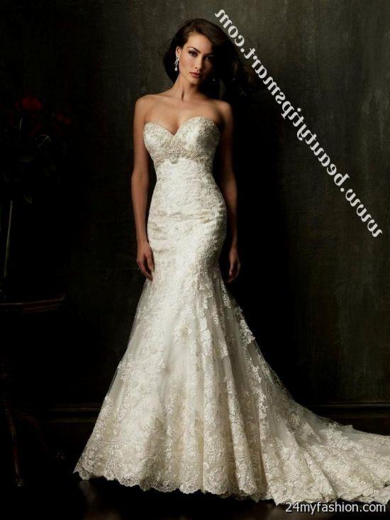 Wedding Dress Sweetheart Neckline Mermaid 2018 2019 B2b