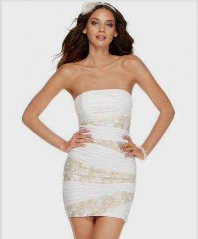 White Bachelorette Party Dress 2018 2019