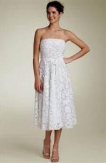 White Sundress Wedding 2018 2019