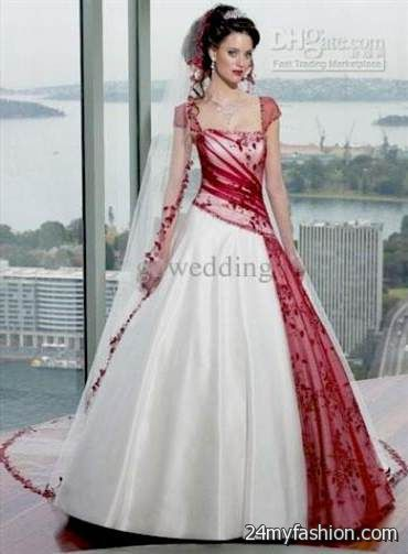 Modern Red Wedding Gown Gift - Dress Ideas For Prom ...