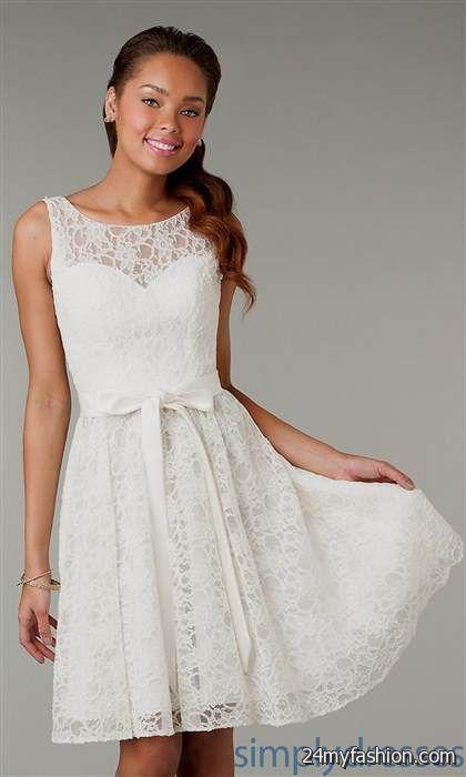 f715c71ff Cute White Lace Dresses For Juniors Review B2b Fashion