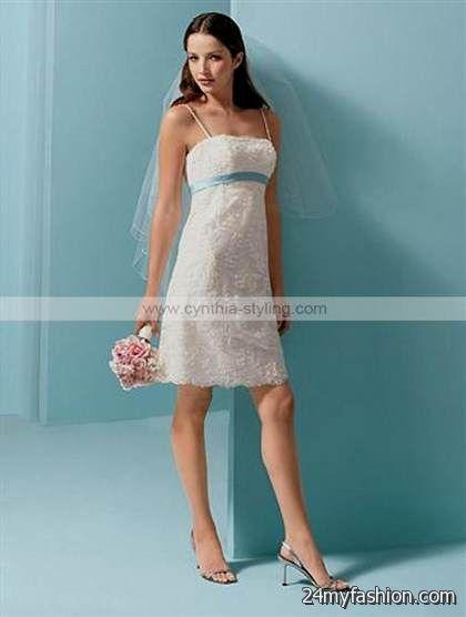 simple casual short wedding dresses review   B2B Fashion