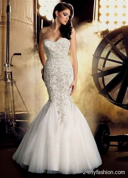 Wedding Dresses Sweetheart Neckline Mermaid Style With Bling Review